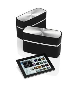 Bowers & Wilkins A5 and A7 Airplay HiFi speakers
