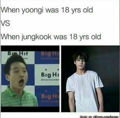 Enough with this bullshit omfg. It's because Jungkook was actually in the group when he was 18 and so he got to be made pretty and Yoongi wasn't so he wasn't payed attention to particularly in the department of being pretty!!!!