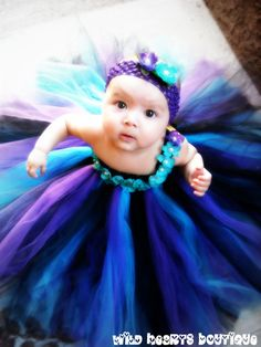 OMG!! STUNNING  The Peacock Pearl Peacock Inspired Tutu by WildHeartsBoutique, $60.00