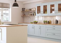 London kitchen specialists Barnard Interiors offers top tips to avoid the usual pitfalls when embarking on a new kitchen design New Kitchen Cabinets, Kitchen Units, Craftsman Kitchen, Rustic Kitchen, Cream Country Kitchen, Cream Shaker Kitchen, Kitchen Lighting Design, Solid Wood Kitchens, Shaker Style Kitchens