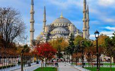 La Mosquée Bleue, Sultan Ahmed Mosque, Istanbul, Turquie