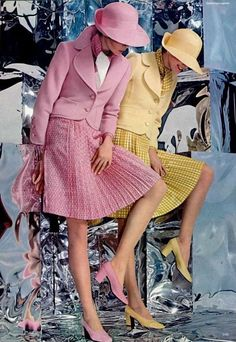 New Hat Fashion Dior 37 Ideas Seventies Fashion, 60s And 70s Fashion, Retro Fashion, Womens Fashion, Fashion Fashion, Retro Mode, Mode Vintage, Vintage Hats, Vintage Dresses