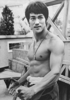 Bruce Lee. My hubs loves Bruce Lee and his movies. I always thought the movies were terrible until I watched a documentary on him. This man is extraordinary, and that is an understatement!