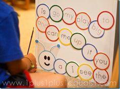 sight word practice - cute!