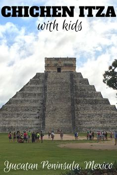 Family travelers of all ages can appreciate the Mayan ruins at Chichen Itza on Mexico's Yucatan Peninsula. Here's what you need to know to make the most of a visit to Chichen Itza with kids, including a side trip to Cenote Ik Kil. Cancun Vacation, Mexico Vacation, Mexico Travel, Vacation Ideas, Cozumel, Cancun Mexico, Mexico Yucatan, Mexico Resorts, Travel With Kids