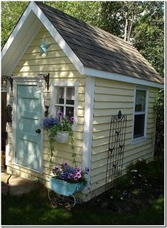 Nice 45 Incredible Garden Shed Plans Ideas.