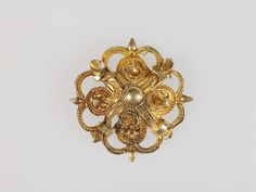 Decorative Rosette or Link of Chain, Europe. 16th century.
