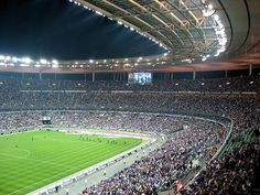 Paris has officially launched the race to host the 2024 Olympic Games | Saint Denis stadium