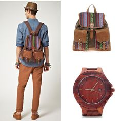 Men's backpack   AB AETERNO Wooden Watches – Fashion Wrist Watches for Men and Women