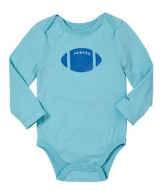 Take a look at this Carolina Blue Football Bodysuit  - Infant by RUUM on #zulily today!