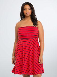 Long Tube Dress PLUS SIZE DRESSES Pinterest