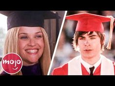 Top 10 Memorable Movie Graduation Scenes - YouTube College Movies, Top 10 Colleges, Graduation Songs, College Majors, How To Memorize Things, Things To Come, Cap And Gown, Great Videos, Long Time Ago