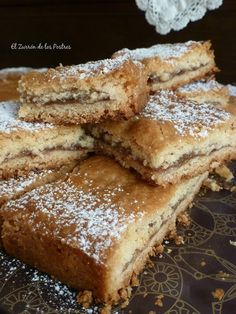 Kitchen Recipes, Baking Recipes, Dessert Recipes, Delicious Desserts, Yummy Food, Decadent Cakes, Pan Dulce, Almond Cakes, Sweet Tarts