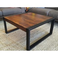 Timbergirl Solid Seesham Wood Coffee Table (India)