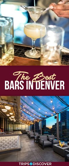 From pre-prohibition to present day, Denver has been a place with streets rich with whiskey bars and speakeasies. Whether it be for a date or great times with friends, here is a list of our favorite bars to get you started. Denver Travel, Travel Usa, Denver Bars, Denver City, Oh The Places You'll Go, Places To Travel, Cheap Weekend Getaways, Best Family Vacation Spots, Visit Denver