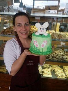 Bunny cake by elina
