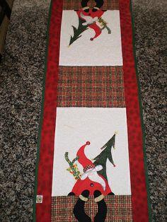 Trilho de Mesa Símbolos de Natal