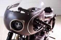Slate Hammer Harley Cafe Racer ~ Return of the Cafe Racers