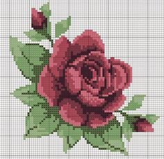 This Pin was discovered by Ren Cross Stitch Books, Cross Stitch Rose, Cross Stitch Flowers, Modern Cross Stitch, Cross Stitch Kits, Cross Stitch Designs, Cross Stitch Charts, Cross Stitch Patterns, Cross Stitching