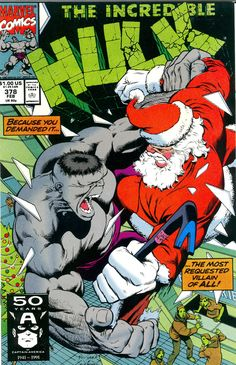 comic book cover   Crazy Comic Cover: Incredible Hulk #378 Rhino Plastered - Comic Book ...