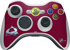 NHL Colorado Avalanche Xbox 360 Wireless Controller Skin - Colorado Avalanche Solid Background Vinyl Decal Skin For Your Xbox 360 Wireless Controller  https://allstarsportsfan.com/product/nhl-colorado-avalanche-xbox-360-wireless-controller-skin-colorado-avalanche-solid-background-vinyl-decal-skin-for-your-xbox-360-wireless-controller/  Ultra-Thin, Lightweight Xbox 360 Wireless Controller Vinyl Decal Protection Offically Licensed Colorado Avalanche Design Industry Leading Vivi