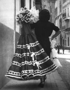 Seville Spain by Brassai 1950 Robert Doisneau, Spanish Dance, Brassai, Reportage Photo, Seville Spain, French Photographers, Photos Of Women, Black And White Photography, Street Photography