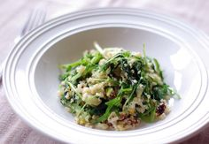 So Good and Tasty: Quinoa and Mibuna Salad with Lemon Pistachio Dressing love this oriental green! http://www.sarahraven.com/shop/mibuna.html