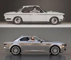 1965 BMW 2000 CS and BMW CS Vintage Concept