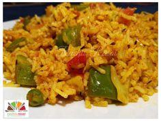 Tava Pulao/ Pavbhaji Pulao Street Food, Rice, Japanese Street Food