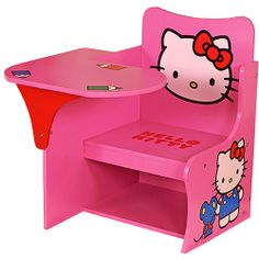 Najarian Hello Kitty Study Writing Desk: Kids' & Teen Rooms : Walmart.com