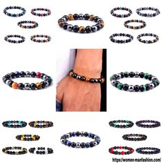 Sea Jewelry, Blue Tigers Eye, Tiger Eye Beads, Ml B, Healthy Women, Make A Gift, Bestfriends, Types Of Metal, Natural Stones