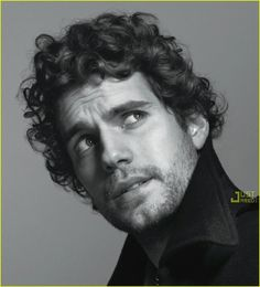 Henry Cavill  - I have a thing for curly hair