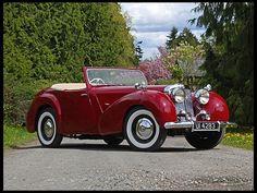 1949 Triumph 2000 Roadster Comprehensive Restoration at Mecum Auctions