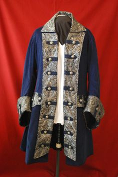 Two Spools - Pirate Coat - available in many fabrics, prints, button choices and comes in sleeveless too! starting price $250
