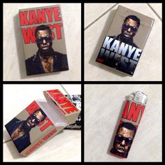 Cibox(cigarette box) #KanyeWest #handmade