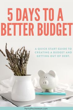 How to create a budget and get out of debt, no matter your financial situation.  Learn to understand your money attitude and more in this free course.   #budget #savemoney #getoutofdebt