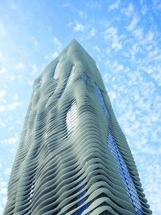 Aqua Tower by Studio Gang Architects