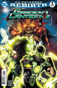 """""""RED PLANET"""" chapter one New Lanterns Jessica Cruz and Simon Baz promised to protect others in brightest day or blackest night, but as """"Red Planet"""" begins to rise, the partners find themselves confron"""