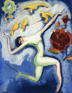 "art-and-fury: ""Tightrope Dancer - Kees van Dongen "" (see) "" """