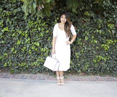 Midi Texture Skater Dress.  Modest Outfit | Sunday Best | Modest is Hottest | LDS | Church Outfit