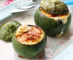 Zucchine tonde ripiene con Asiago  blog il mio saper fare