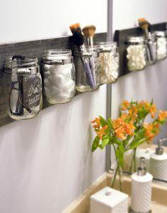 DIY Mason Jar Organizer by DIY Playbook | NONAGON.style