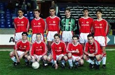 Youth football past and present: Liverpool vs. David Beckham Manchester United, Manchester United Images, Manchester United Legends, Manchester United Football, Retro Football, Youth Football, Sport Football, Association Football, Soccer Shirts