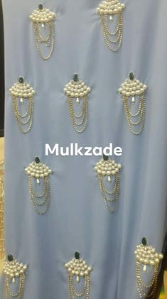 Order contact my whatsapp number 7874133176 Zardozi Embroidery, Embroidery On Kurtis, Kurti Embroidery Design, Pearl Embroidery, Hand Embroidery Dress, Bead Embroidery Patterns, Couture Embroidery, Embroidery Suits, Bead Embroidery Jewelry