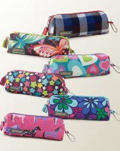 Garnet Hill Kids Pencil Bag - love it! All 3 girls have 1