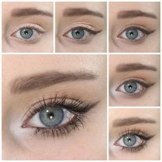 Smokey Brown Winged Liner Eye Look | How To