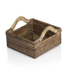 Calasio Inc.- Square Basket With Up Handle Small