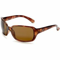 Ray-Ban Womens 4068 Oversized Wrap Sunglasses #frames #polarized #sunglasses #eyewear #rayban
