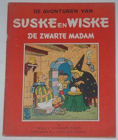 Catawiki online auction house: Suske en Wiske RV-06 - De zwarte madam - sc - 1e druk (1949)