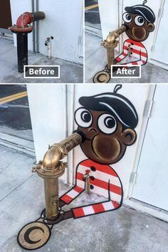 Le street-artist Tom Bob est de retour avec de nouvelles créations